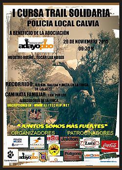 I Cursa Solidaria Trail Policia Local de Calvia 2015