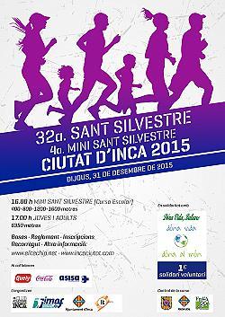 32a Cursa ESCOLAR Sant Silvestre d'Inca 2015
