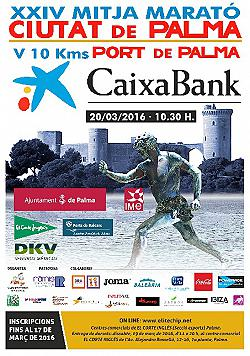 XXIV Caixabank Mitja Maraton Ciutat de Palma 2016