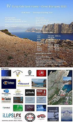 IV Cursa Cala Sant Vicenç - Coves Blanques 2016