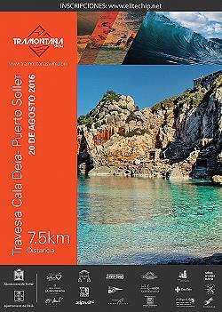 Travesia Tramontana Swim Cala Deia-Puerto Soller 2016
