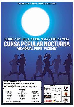 Cursa Popular Nocturna - Memorial Pere Pixedis 2016