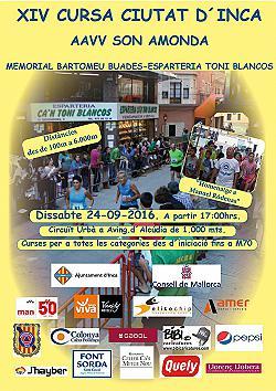 XIV Cursa Ciutat d'Inca 2016