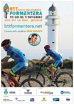 BTT Volta Cicloturista Formentera - La Mola 2016