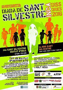 33a Cursa Popular Sant Silvestre d'Inca 2016