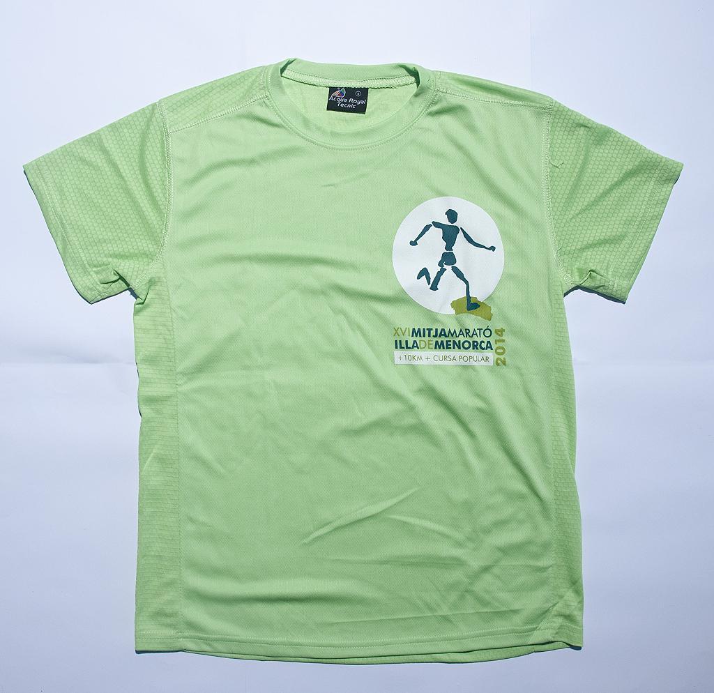 Camiseta Mitja Menorca 2014