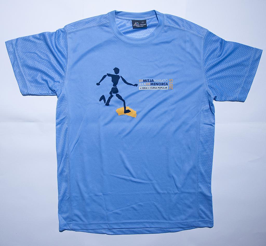 Camiseta Mitja Menorca 2015