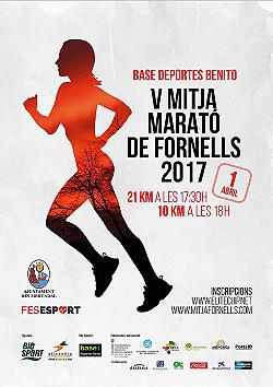 V Mitja Marató de Fornells 2017