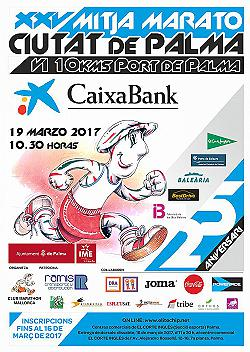 XXV Mitja Marato - 10 km CaixaBank Ciutat de Palma 2017
