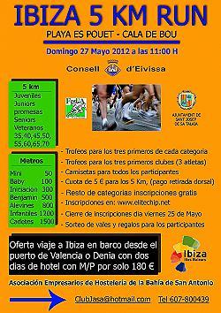 Ibiza 5 Km Run 2012