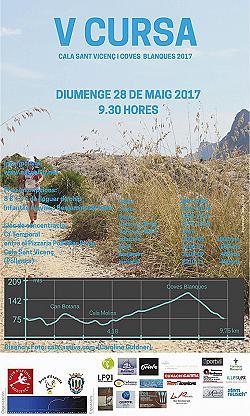 V Cursa Cala Sant Vicenç - Coves Blanques 2017