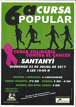 VI Cursa Popular Santanyi 2017