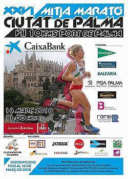 XXVI CaixaBank Mitja Marató /10 km Ciutat de Palma 2018