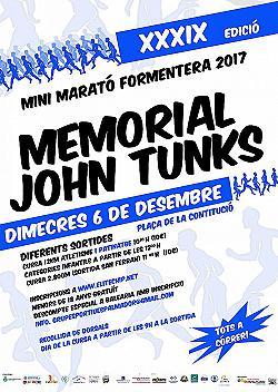 39a Mini Marató Formentera - Memorial John Tunks 2017