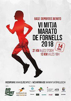 VI Mitja Marató de Fornells 2018