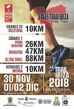 Trail Ibiza - 3 Dias 2018