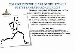 Cursa 50 voltes Festes de Santa Margalida 2019