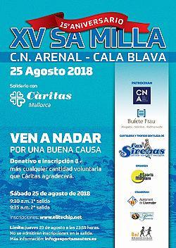 XV Sa Milla - Travesia C.N. Arenal - Cala Blava 2018