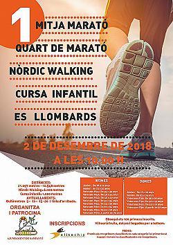 I Mitja i Quart de Marató Es Llombards 2018