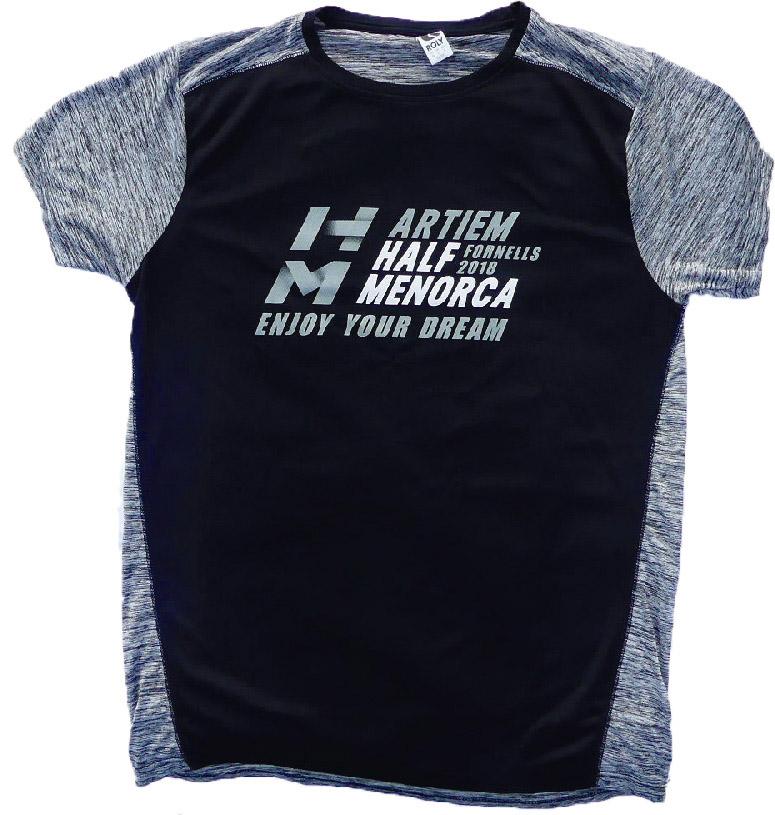 Camiseta Half Menorca 2018