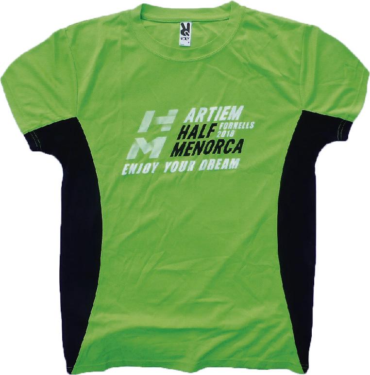 Camiseta STAFF Half Menorca 2018