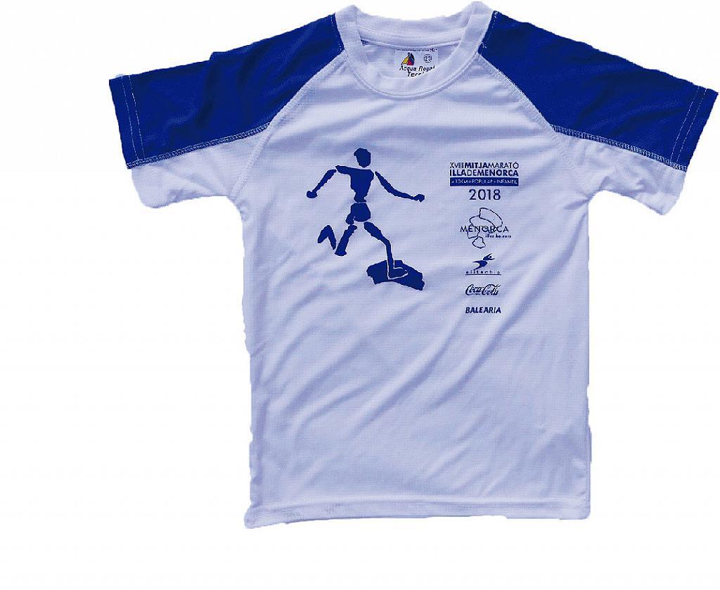 Camiseta Mitja Menorca 2018