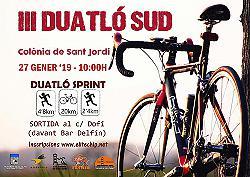 III Duatló Sud 2019
