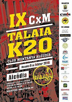IX Cursa Talaia K20 2019