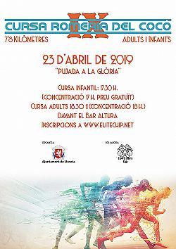 IX Cursa Romeria des Coco - Pujada a la Glòria 2019