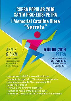 IV Cursa popular Santa Praxedis Petra 2019