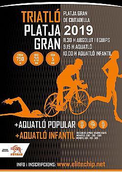 X Triatló Sprint Platja Gran 2019