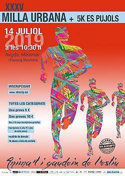 XXXV Milla Urbana + 5Km Els Pujols 2019