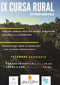 IX Cursa Rural - Intervinyes - Sa Vermada 2019