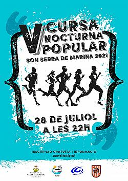 V Cursa Nocturna Son Serra de Marina 2021