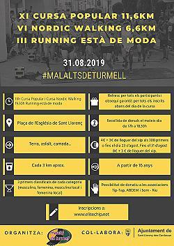 XI Cursa Malalts de Turmell 2019