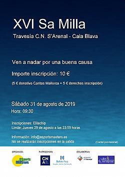 XVI Sa Milla - Travesia C.N. Arenal - Cala Blava 2019