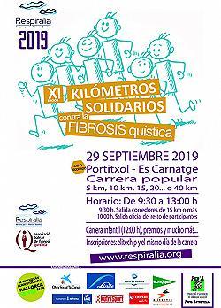 XI Kilómetros Solidarios - Fibrosis Quística 2019
