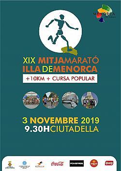 10 km i XIX Mitja Marató de Menorca 2019