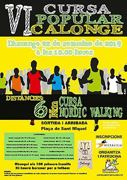 VI Cursa Popular Calonge 2019