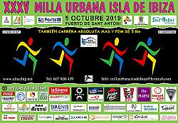 XXXV Milla Urbana Isla de Ibiza 2019