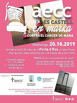 Carrera Solidaria AECC Es Castell En Marcha 2019