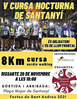 IV Cursa Nocturna Sant Andreu Santanyi 2019