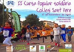 II Cursa Popular Solidaria Col.legi Sant Pere 2019