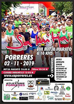 VIII Mitja Marató Porreres - 10 km 2019