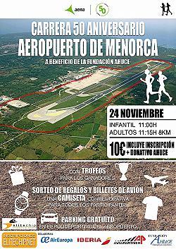 Carrera 50 Aniversario Aeropuerto de Menorca 2019