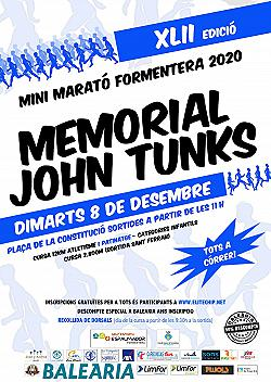 XLI Mini Marató Formentera - Memorial John Tunks 2019