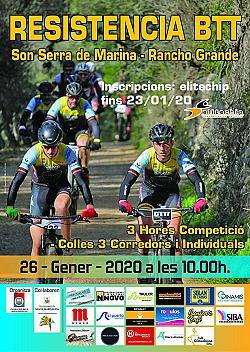 Resistencia BTT Son Serra de Marina-Rancho Grande 2020