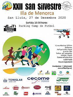 XXII Sant Silvestre Illa de Menorca 2020