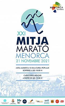 10 km i XXI Mitja Marató de Menorca 2021