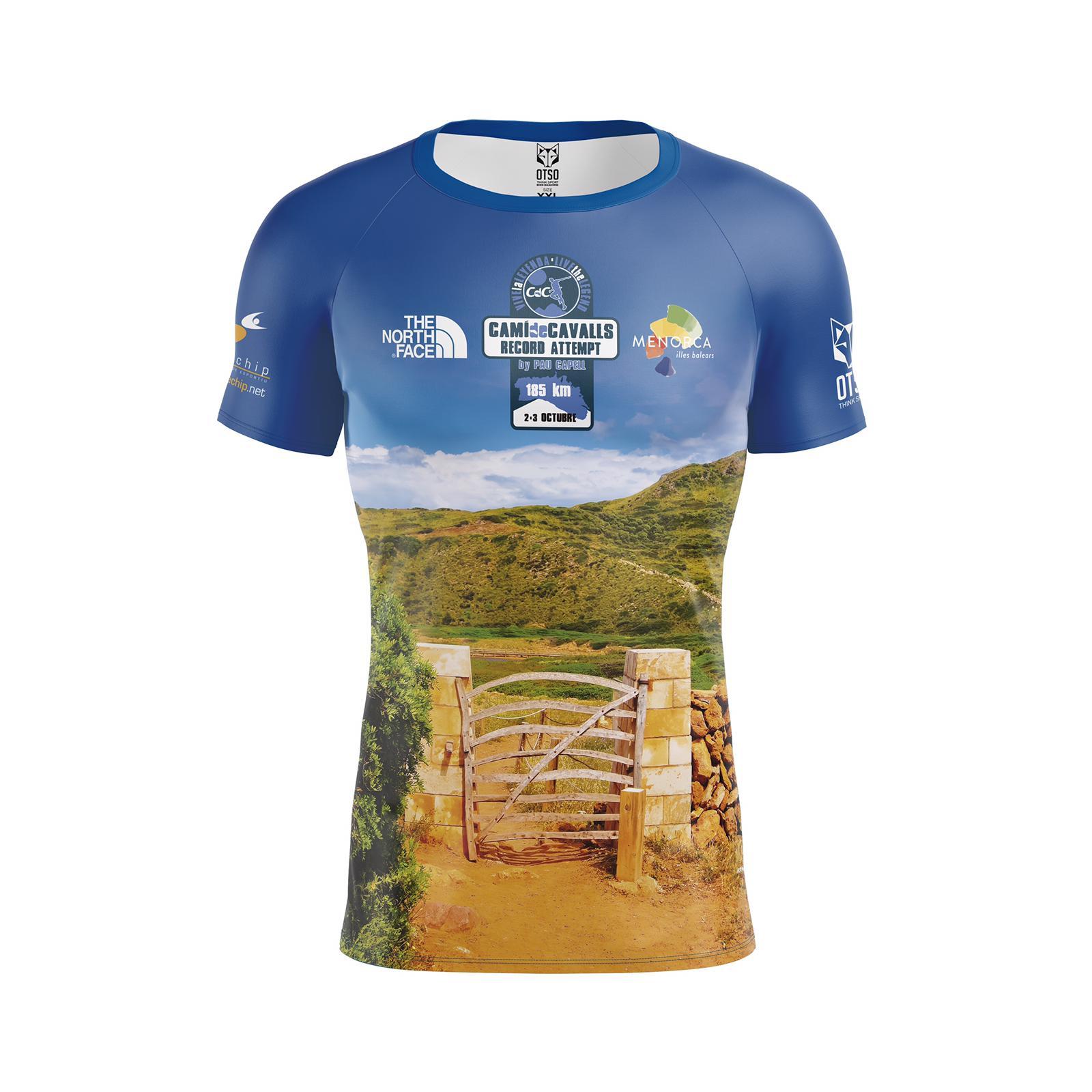 Camiseta Record Attemp Pau Capell